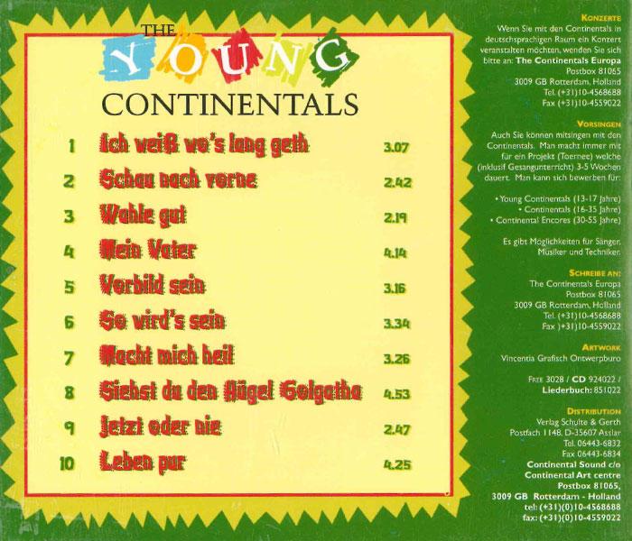 1998 jetz oder nie - Continental Bewerbung